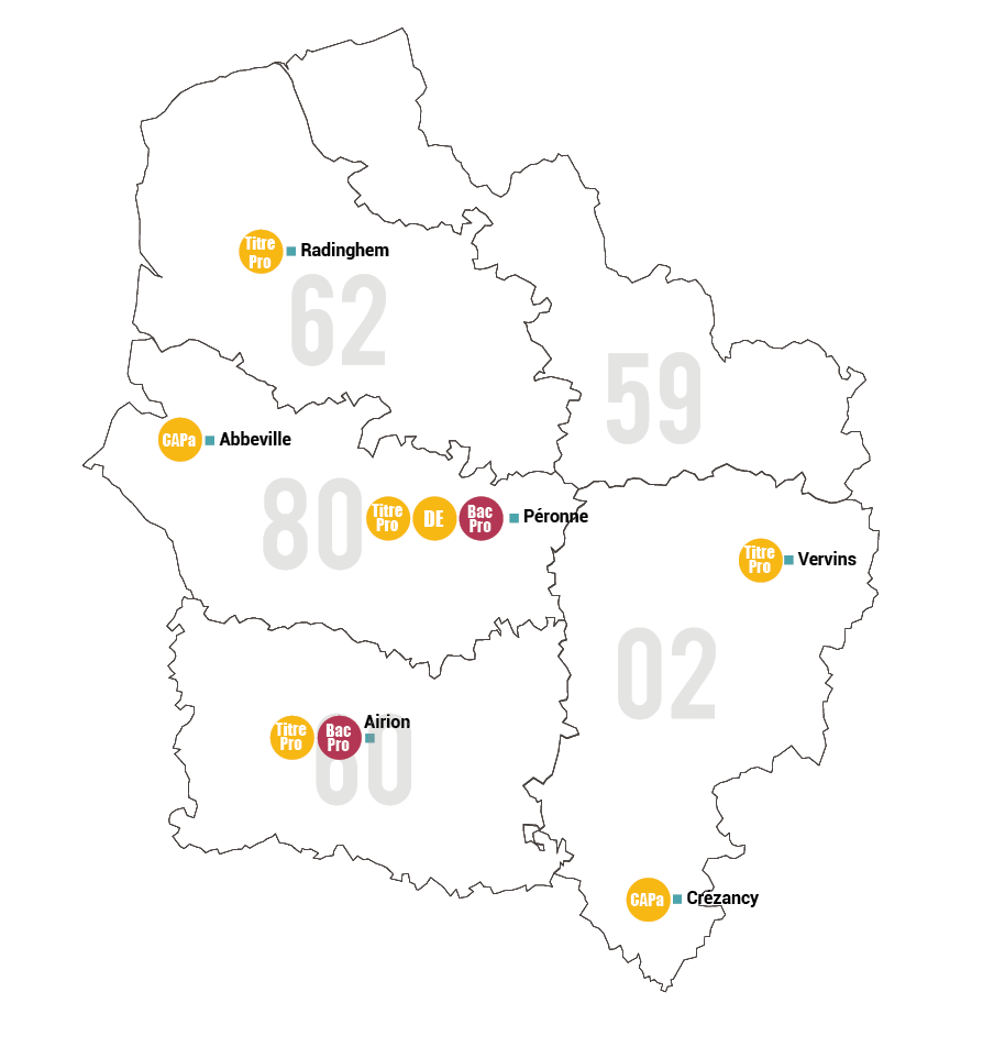 Carte Filière Services