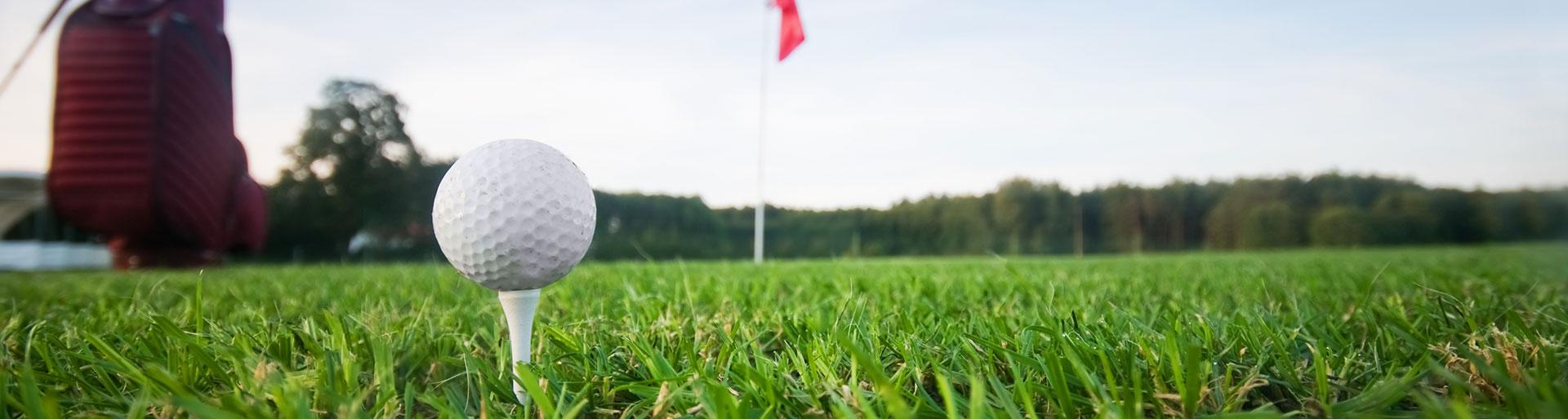 CS JGESSE - Balle de golf sur un terrain