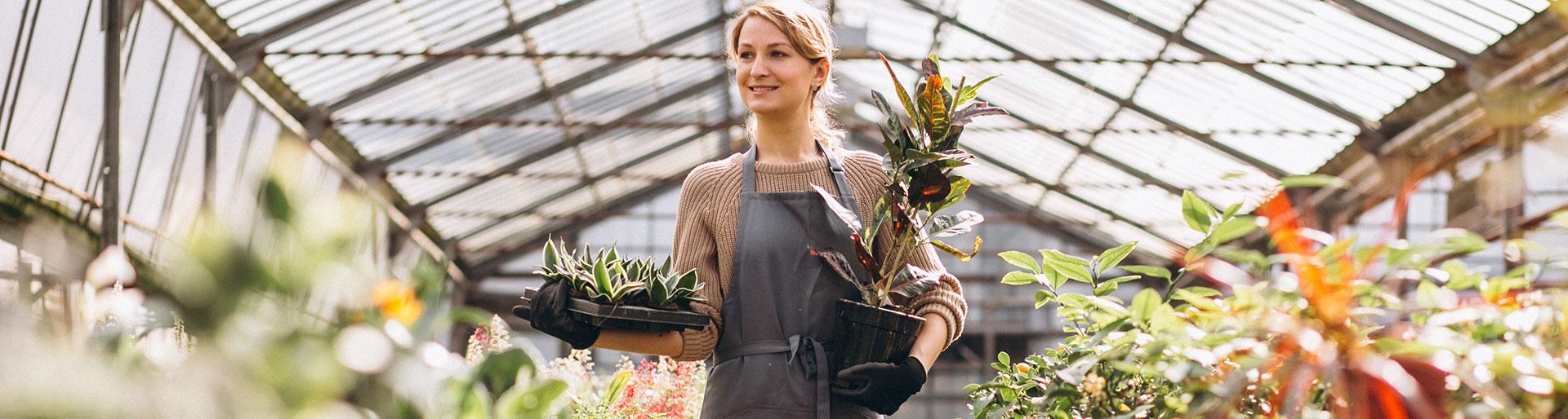 BP Fleuriste - femme fleuriste